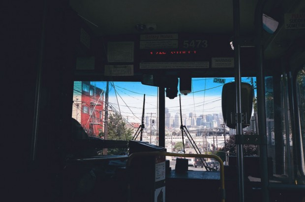 San Francisco Bus Ride
