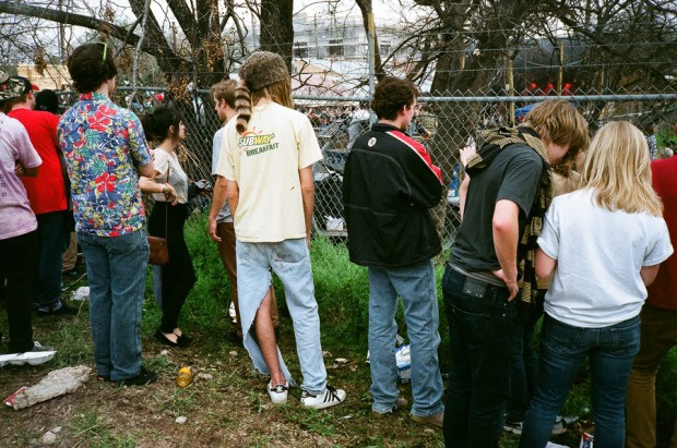 Lil B crowd at Scoot Inn SXSW