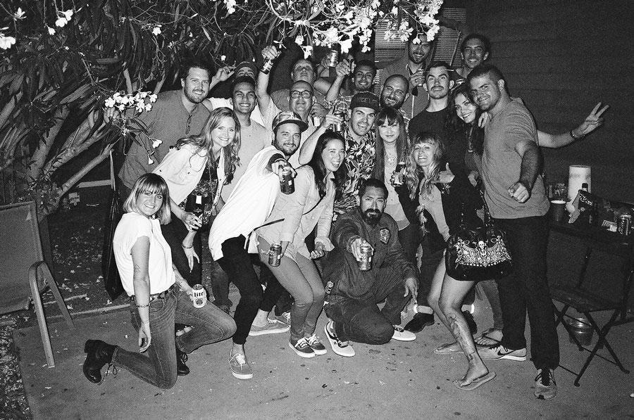 29th Birthday Party Gang