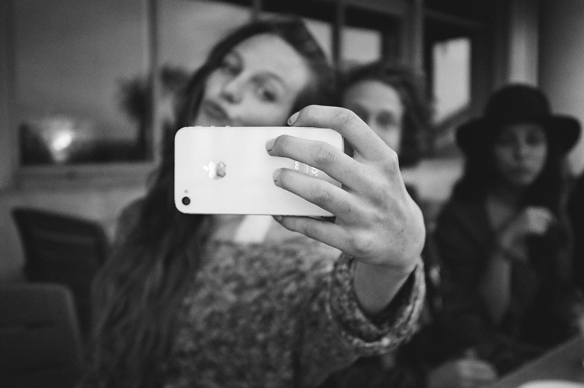 Duckface Selfie