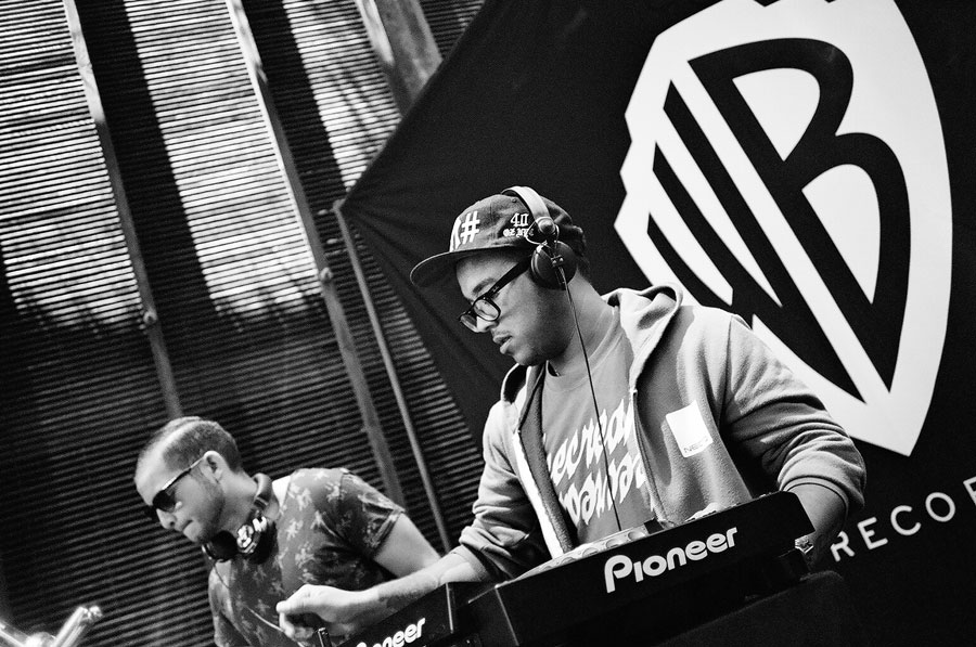 GTA DJ Warner Bros Summer Sessions BBQ