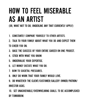 Artists Survival Guide