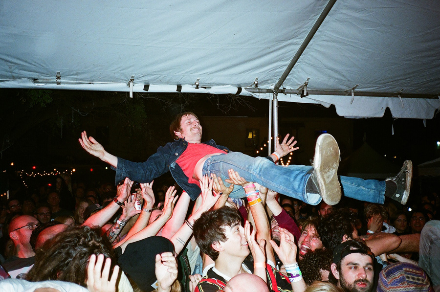 SXSW Crowd Surf