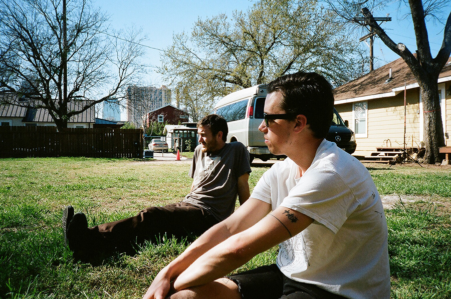 Loroto is Awesome. Winston & Nick chillin' in the boss yard.